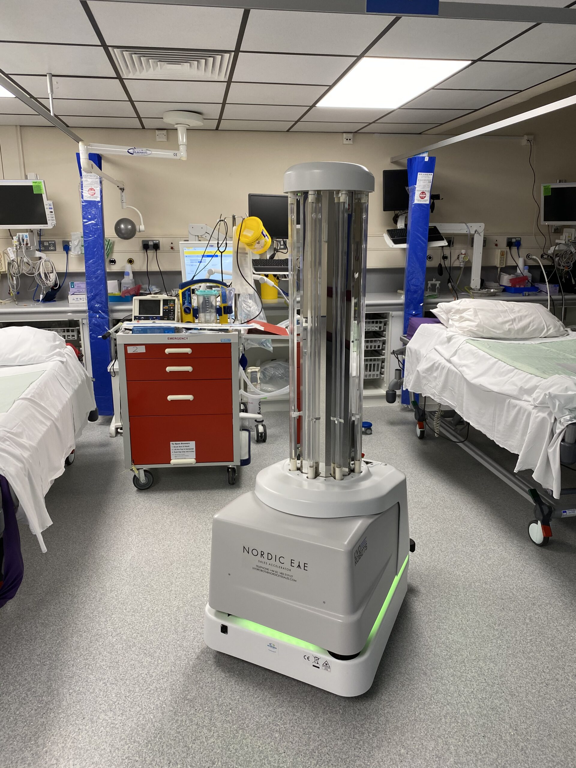UVD Robot at Frimley for references and testimonials